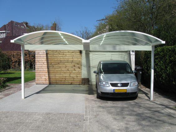 Dubbele carport toog